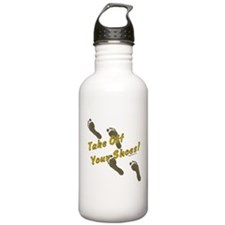 Take off your shoes Water Bottle