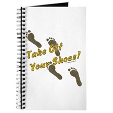Take off your shoes Journal