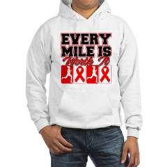 Blood Cancer Every Mile (Gals) Hoodie