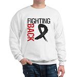Fighting Back Melanoma Sweatshirt