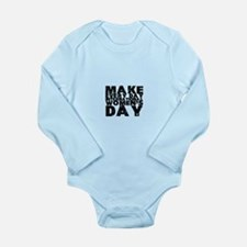International Women's Day Long Sleeve Infant Bodys