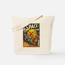 Unique Comic book art Tote Bag