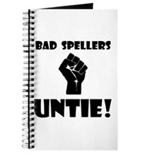 Bad Spellers Untie! Journal