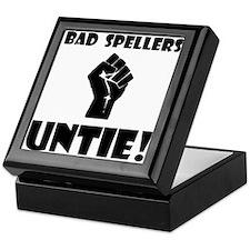 Bad Spellers Untie! Keepsake Box