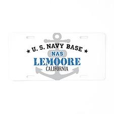 US Navy Lemoore Base Aluminum License Plate