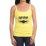 Melanoma Cancer Survivor Jr. Spaghetti Tank