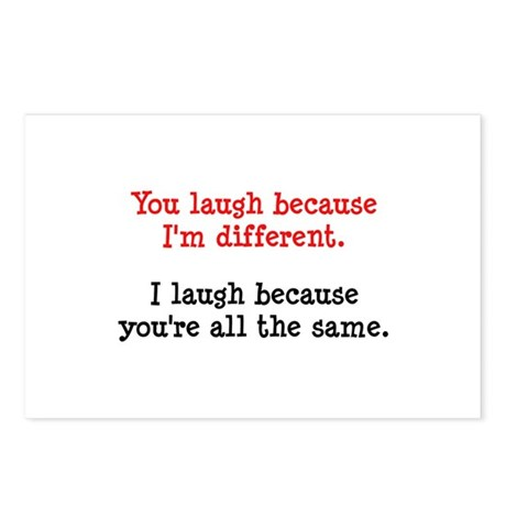 I'm Different Postcards (Package of 8)