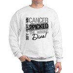 Cancer Wrong Diva Melanoma Sweatshirt