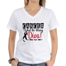 Wrong Diva Melanoma Shirt