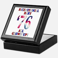 Bicentennial Baby All Grown Up! Keepsake Box