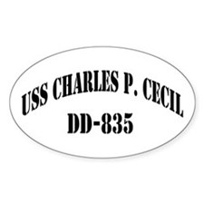 USS CHARLES P. CECIL Decal