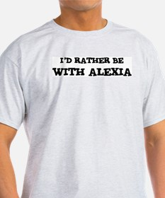 With Alexia Ash Grey T-Shirt
