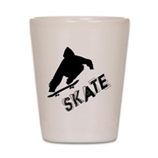 Skate Ollie Sillhouette Shot Glass
