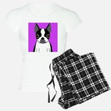 Boston Terrier (Black) Pajamas