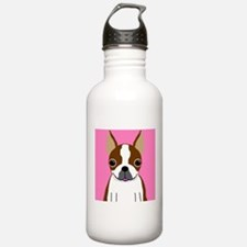 Boston Terrier (Brown) Water Bottle