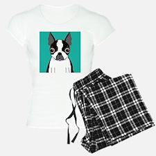 Boston Terrier (Dark Brindle) Pajamas