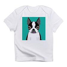 Boston Terrier (Dark Brindle) Infant T-Shirt