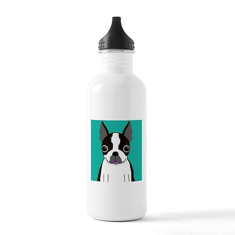 Boston Terrier (Dark Brindle) Stainless Water Bott
