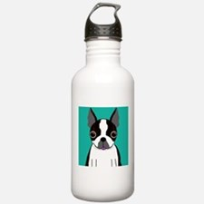 Boston Terrier (Dark Brindle) Water Bottle