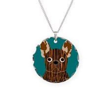 Frenchy (Brindle) Necklace