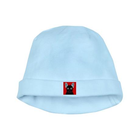 Frenchy (Dark Brindle) baby hat