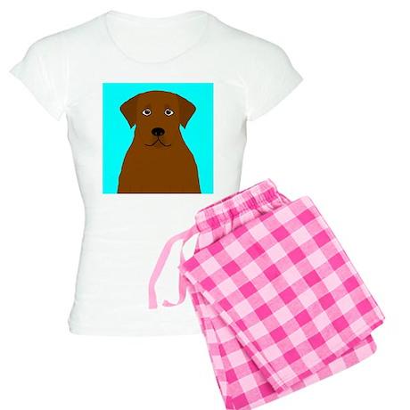 Chocolate Lab Women's Light Pajamas