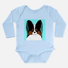 Papillon Long Sleeve Infant Bodysuit