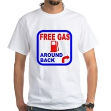 Free Gas Around Back Shirt T- Shirt