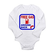 Free Gas Around Back Shirt T- Long Sleeve Infant B