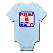 Free Gas Around Back Shirt T- Infant Bodysuit