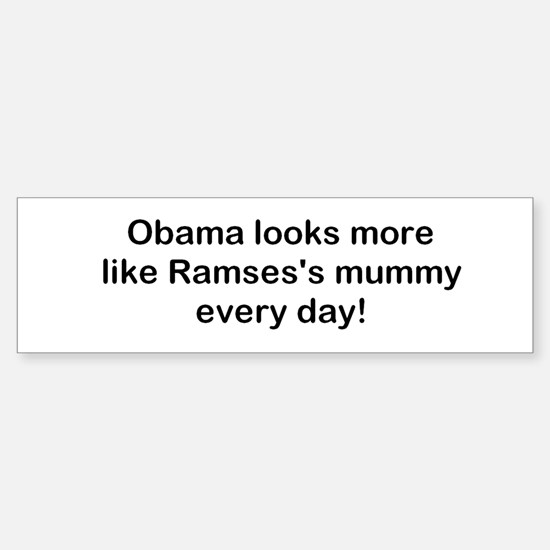 Obama/Ramses! Sticker (Bumper)