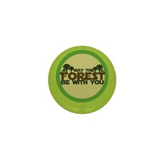 Earth Day Geek Mini Button (10 pack)