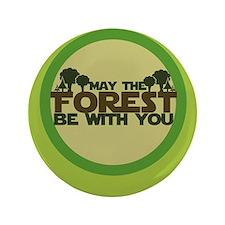 "Earth Day Geek 3.5"" Button"