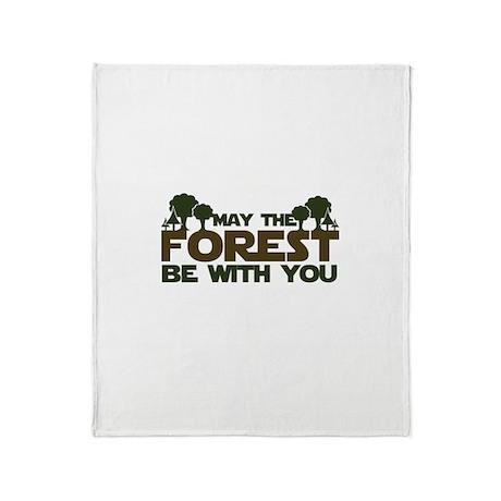 Earth Day Geek Throw Blanket