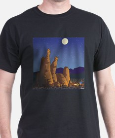 Unique Camping rocks T-Shirt