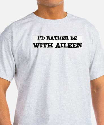 With Aileen Ash Grey T-Shirt