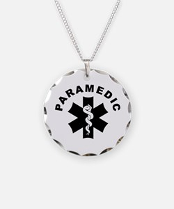 Paramedic Star Of Life Necklace