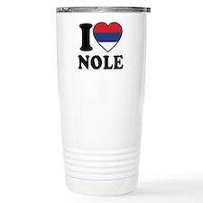 Nole Serbia Travel Coffee Mug