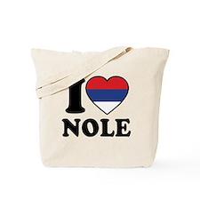 Nole Serbia Tote Bag