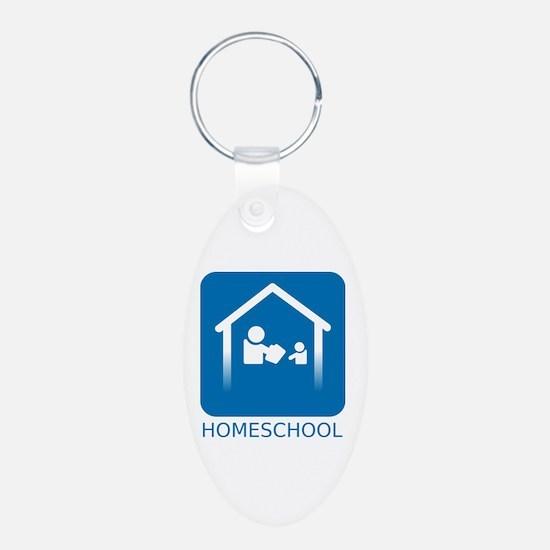 Homeschool Symbol Keychains