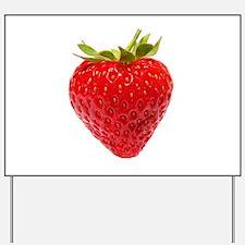 Cute Strawberries Yard Sign