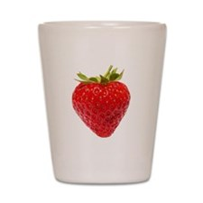 Cute Strawberry Shot Glass