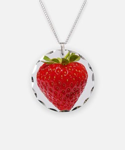 Cute Strawberry Necklace