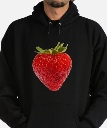 Cute Strawberry Hoodie (dark)