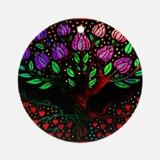Libris Roots Ornament (Round)
