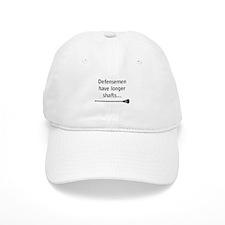 Defensemen have longer shafts Baseball Baseball Cap