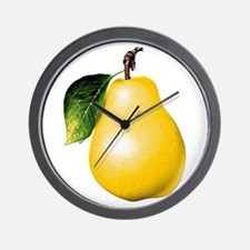 Pear Wall Clock