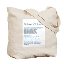 St Francis Tote Bag