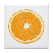 Orange Tile Coaster