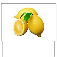 Lemon Yard Sign